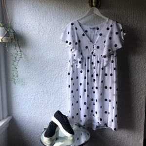 Bohemian Polka Dress BLACK SPOT  BT-SS18-H22A