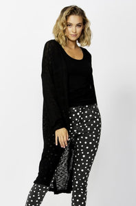 Betty Basics Mila Knit Cardigan BLACK