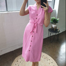 Load image into Gallery viewer, One Two Melbourne Dress HOT PINK