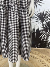 Load image into Gallery viewer, One Two Melbourne Maxi Dress BLACK GINGHAM