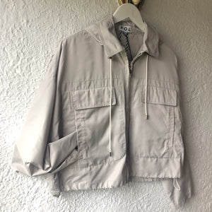 POL Harbour Raincoat PEBBLE