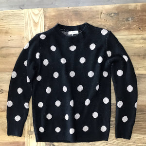 Worthier Jumper With Gold Dots BLACK