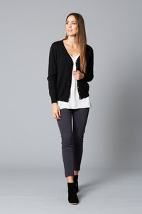 Isle Of Mine Traveller Cardigan CHARCOAL