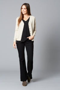 Isle Of Mine Traveller Cardigan IVORY