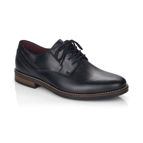 Rieker Men's Lace Up Shoe Black