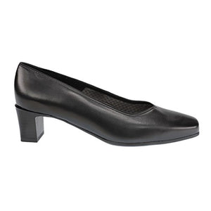 Mid Heel Plain Court Shoe