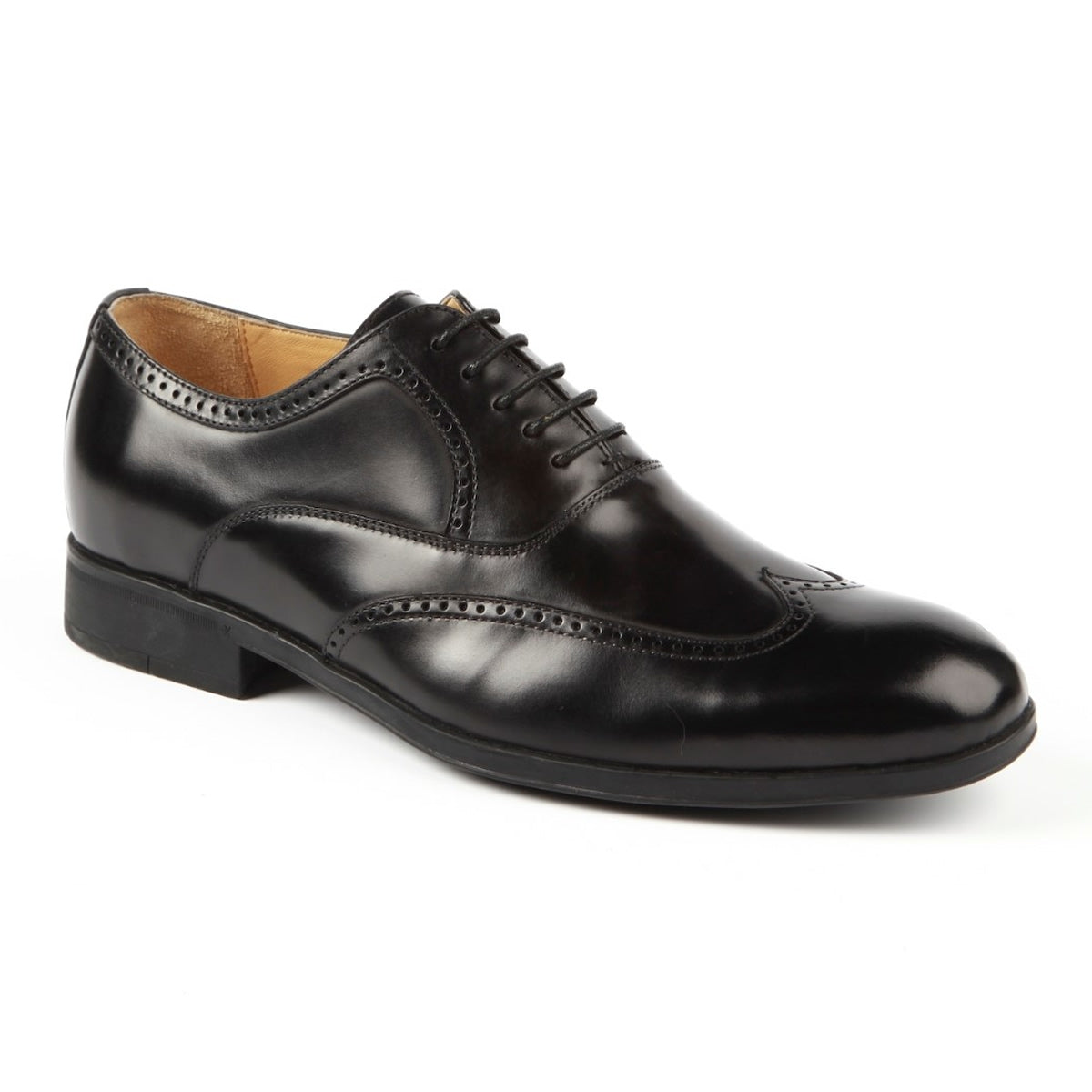 Burgos Leather Wingtip Brogue