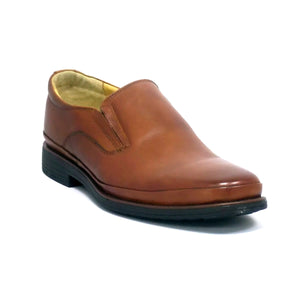 Andrea Leather Slip On Loafer Shoes