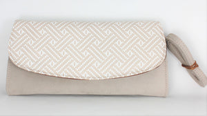 Claudia Patterned Clutch Handbag