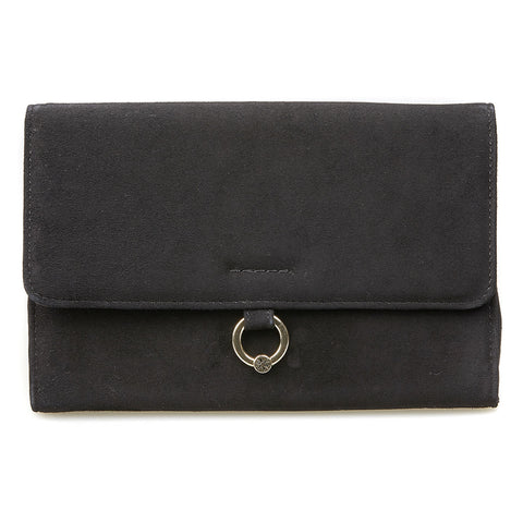 Hebe Clutch Handbag Black