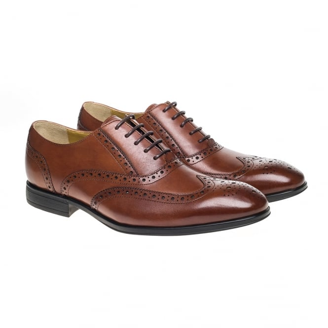 Finchley Lace Up Brouge Shoe