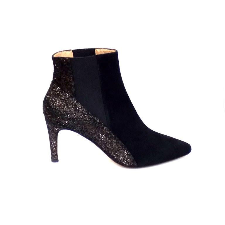 Piton Suede Dressy Ankle Boot