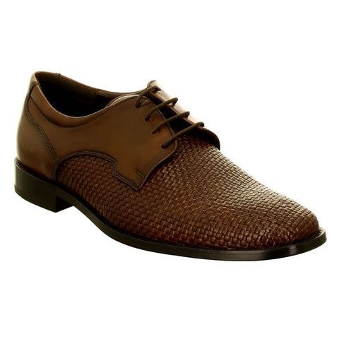 Regino Cross Hatch Leather Shoe