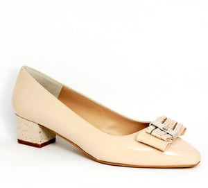 Frances Low Heel Court Shoe