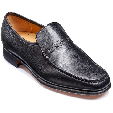 Leon Slip On Deerskin Moccasin