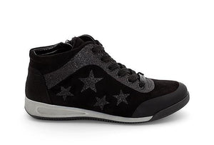 Rom High Top Lace Up Trainer Shoe