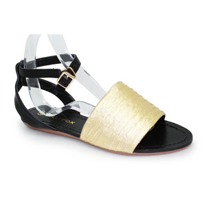 Lollyfox Gwen Sandal With Cross Over Ankle Strap