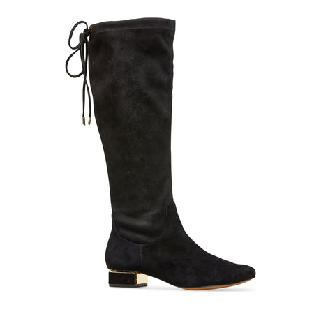 Hoople Knee High Low Heel Boot