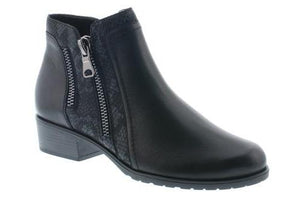Double Zipper Ankle Boot