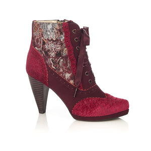 Peri Lace Up High Heel Boot