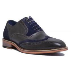 Fred Lace Up Two Tone Shoe