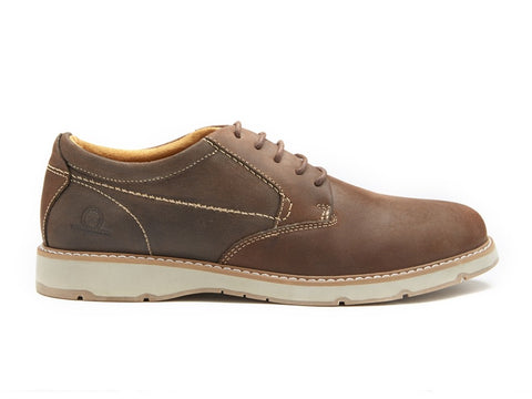 Brent Premium Leather Derby Shoes