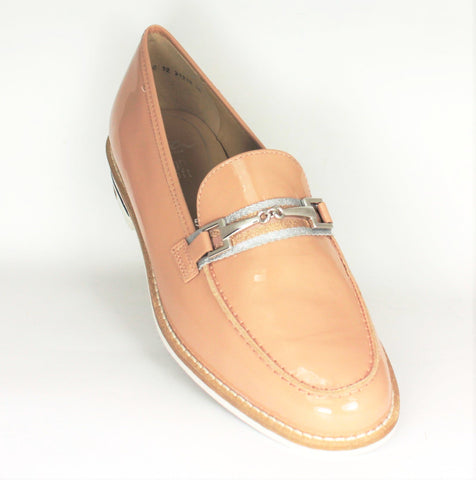 Kent Buckle Trim Low Heel Loafer
