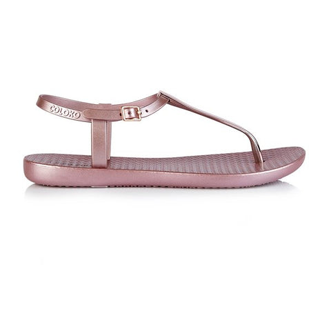 Rose Sakura Toe Post Sandal