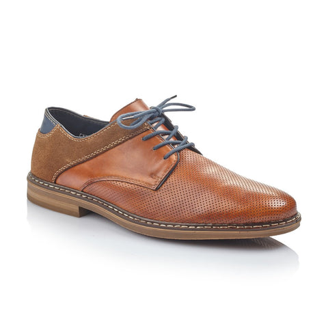 Rieker Mens Lace Up Shoe