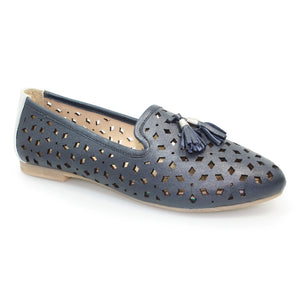 Alma III Leather Tassel Shoe