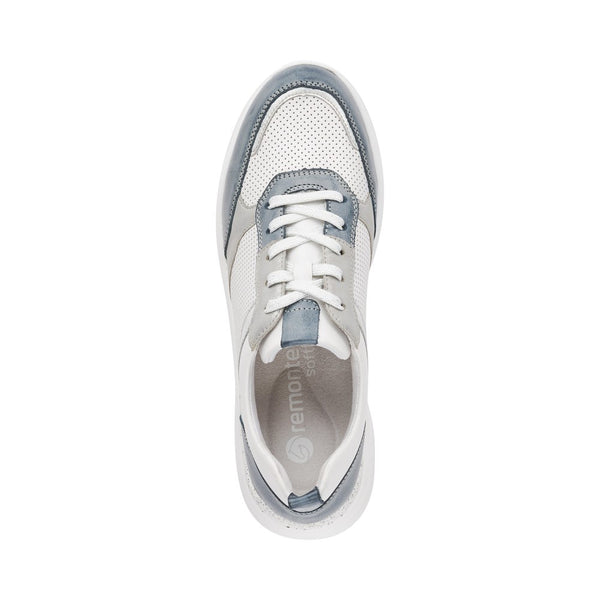Remonte Ladies Lace Up Bubble Sole Trainer Shoe