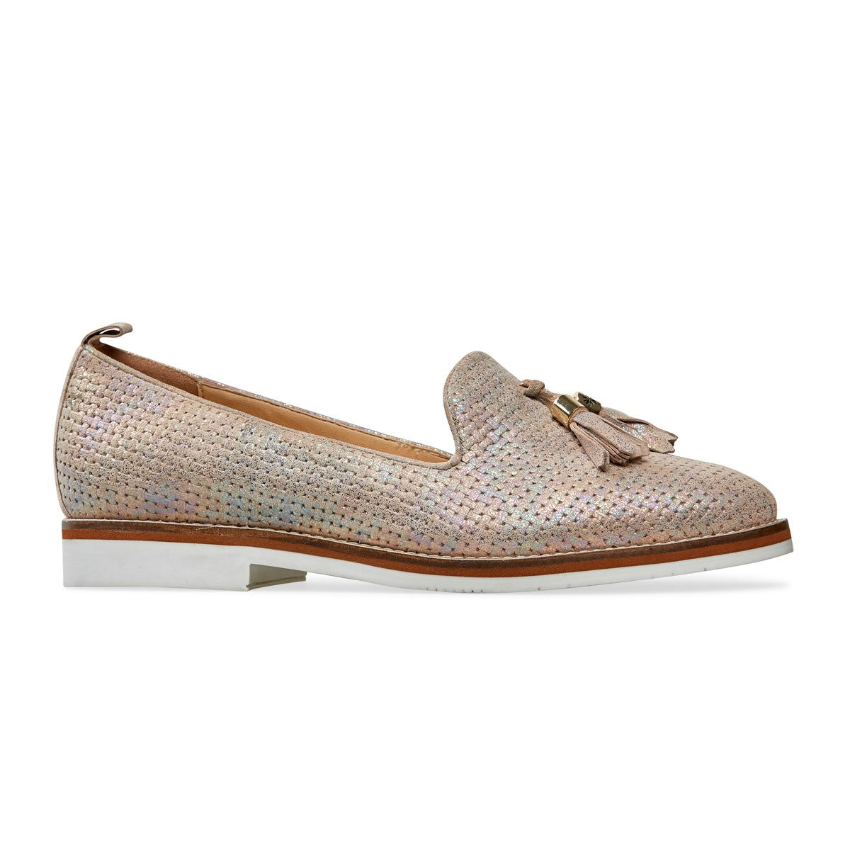 Ridley Low Heel Loafer Tassel Shoe