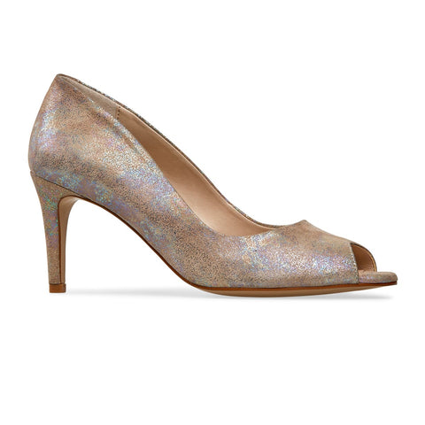 Isla High Heel Peep Toe Court Shoe
