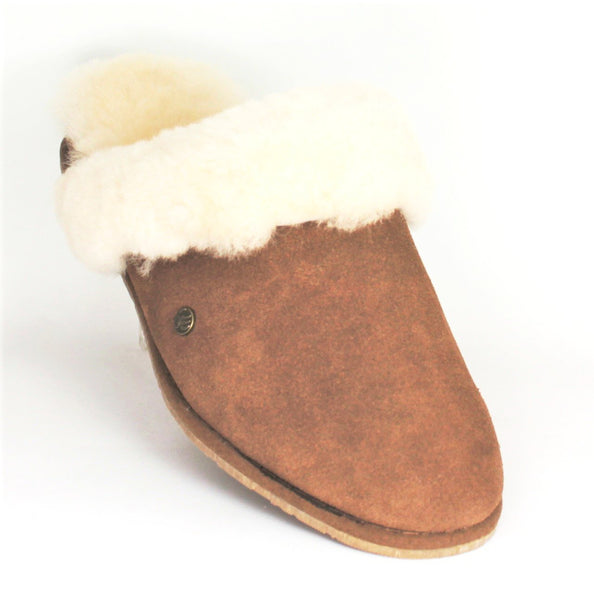 Ladon Sheepskin Slip On Mule Slipper