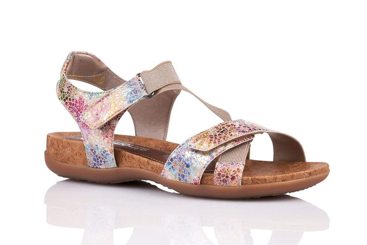 Multi Colour Casual Walking Sandal