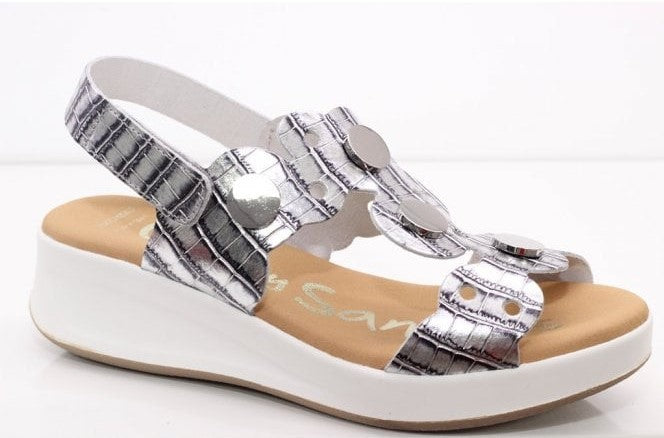 OH My Sandals Ladies Sandal Silver