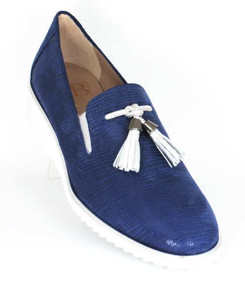 Maia Wedge Heel Tassel Loafer
