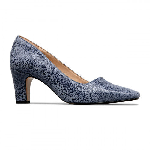 Ophelia V-Cut Throat Court Shoe