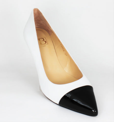 Hannah High Heel Two Tone Court Shoe