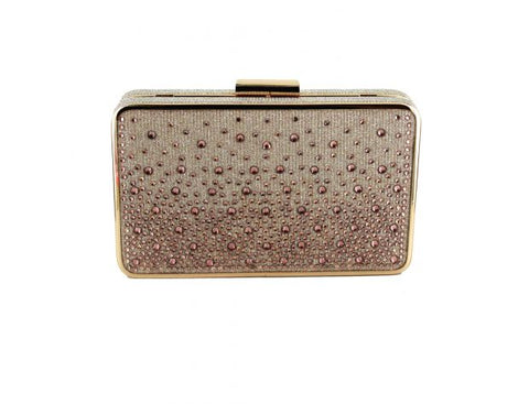Veleso Hard Case Diamante Handbag
