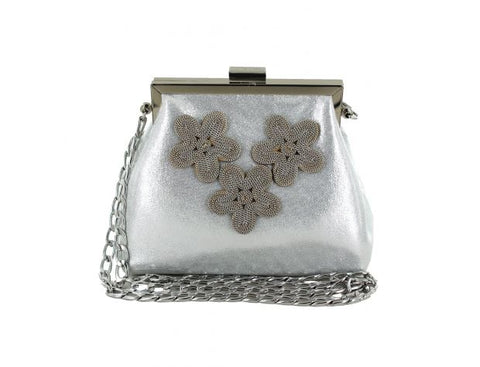 Verbicaro Soft Handbag With Flower Detail