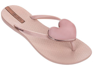 Maxi Heart Slip On Toe Post Sandal