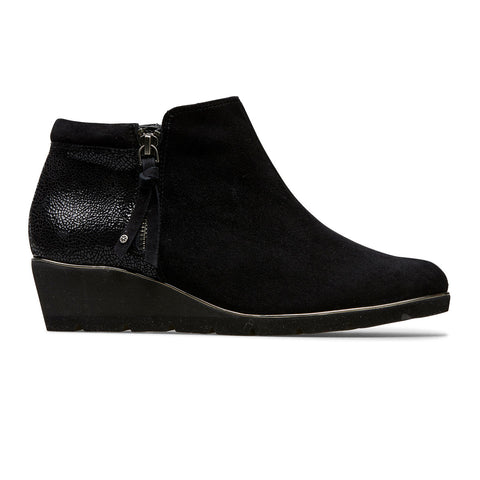 Cass Wedge Heel Ankle Boot