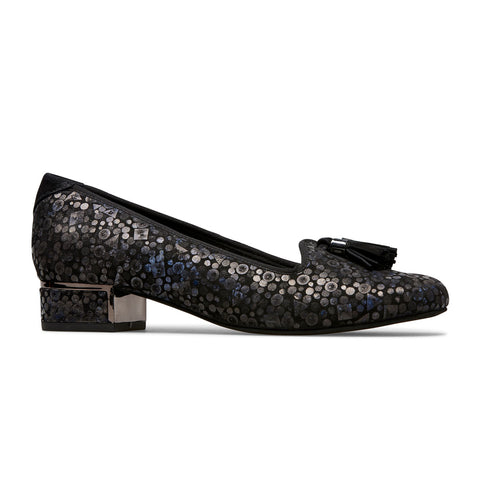 Thurlo Low Heel Loafer Tassel Shoe
