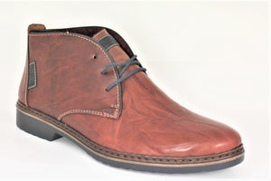Lace Up Chukka Ankle Boot