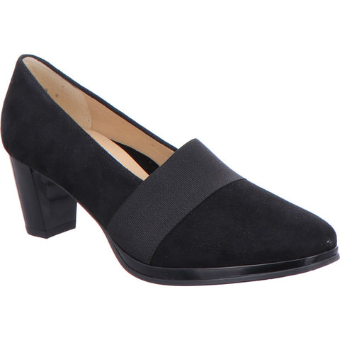 Orly High Heel Slip On High Cut Court Shoe