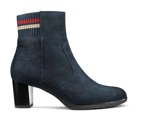 Orly High Heel Suede Ankle Boot