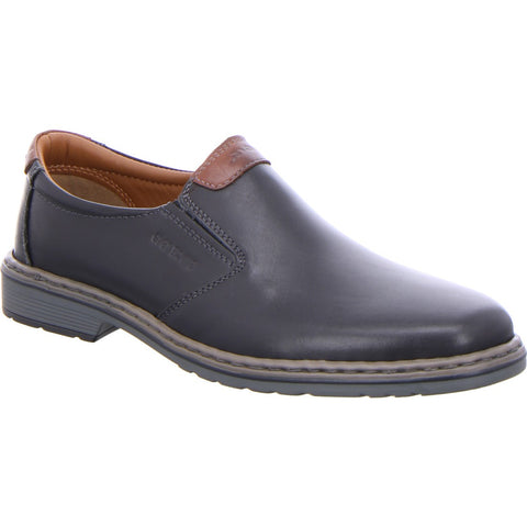 Dillon Leather Slip On Loafer Shoe