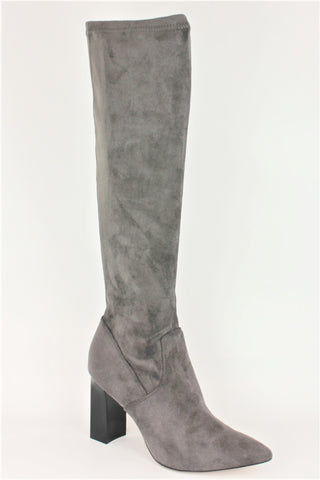 Stretch High Heel Knee High Boot