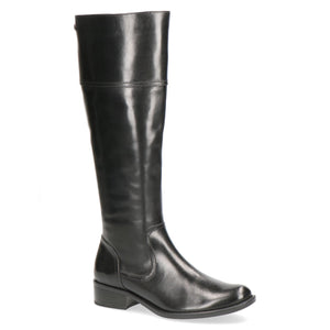 Knee High Block Low Heel Boot